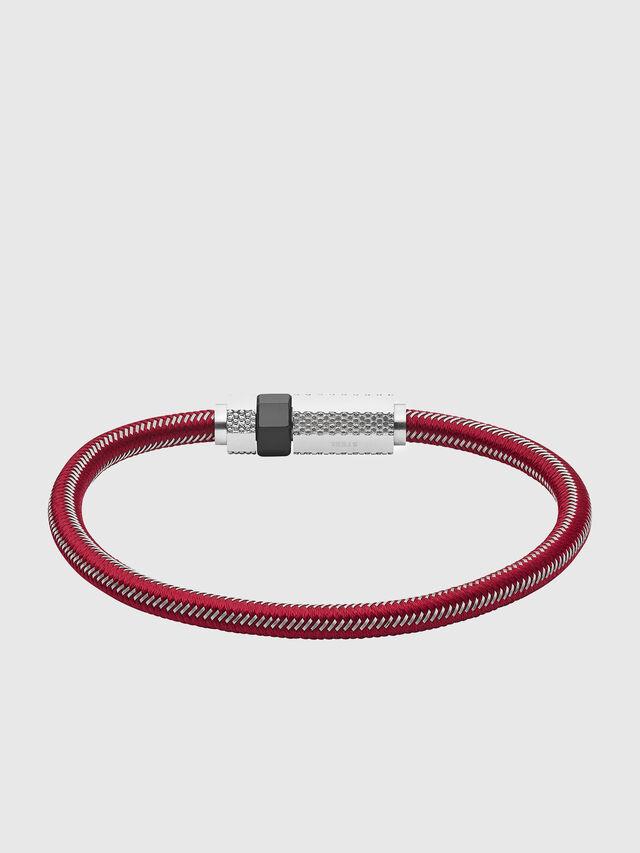Diesel - DX1153, Red - Bracelets - Image 1