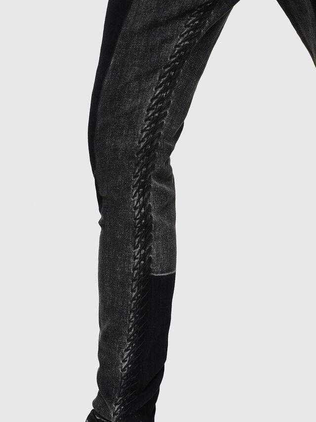 Diesel - D-Amny 0890T, Black/Dark Grey - Jeans - Image 3