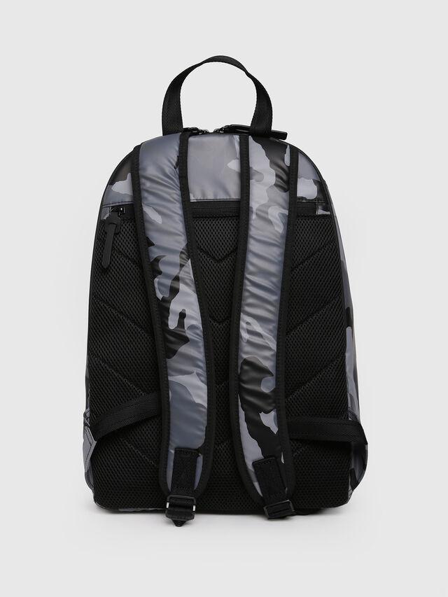 Diesel - F-BOLD BACK, Grey Melange - Backpacks - Image 2