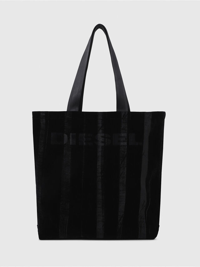 Diesel - F-THISBAG SHOPPER NS, Black - Shopping and Shoulder Bags - Image 1