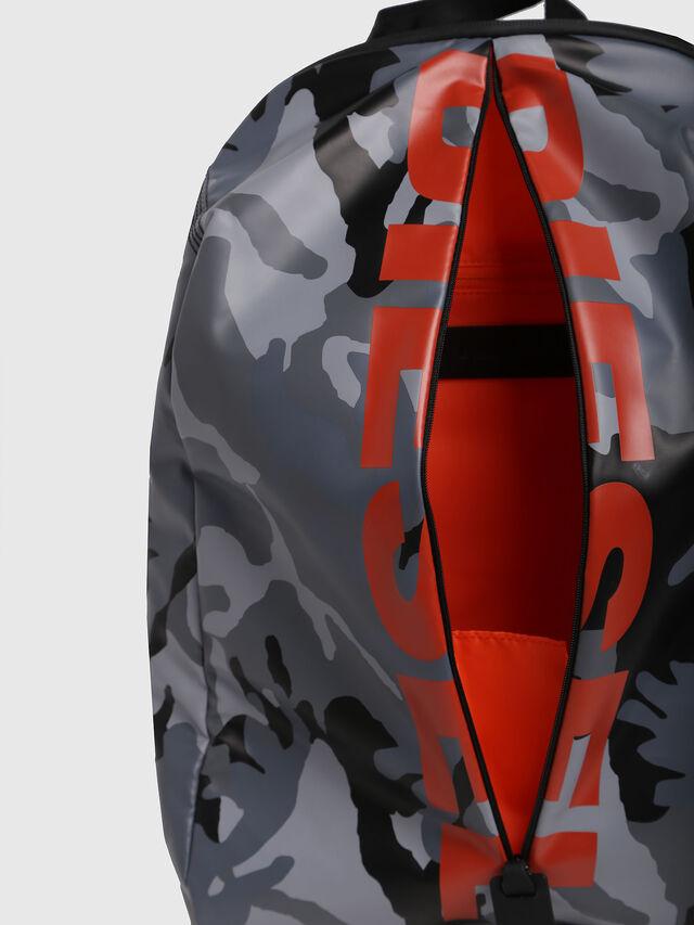 Diesel - F-BOLD BACK, Grey Melange - Backpacks - Image 3