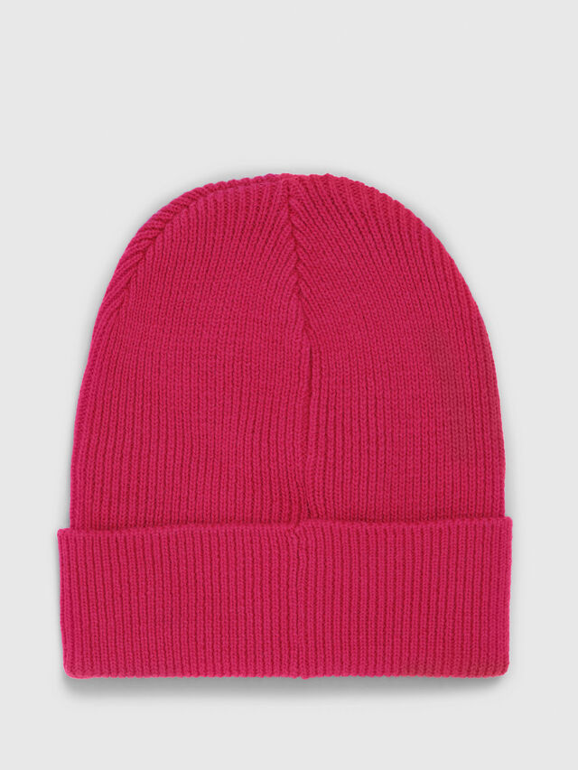 Diesel - K-CODER, Hot pink - Knit caps - Image 2