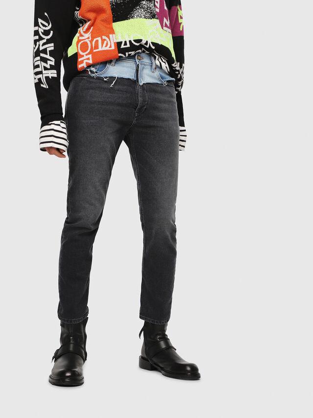 Diesel - D-Eetar 088AB, Black/Dark Grey - Jeans - Image 1