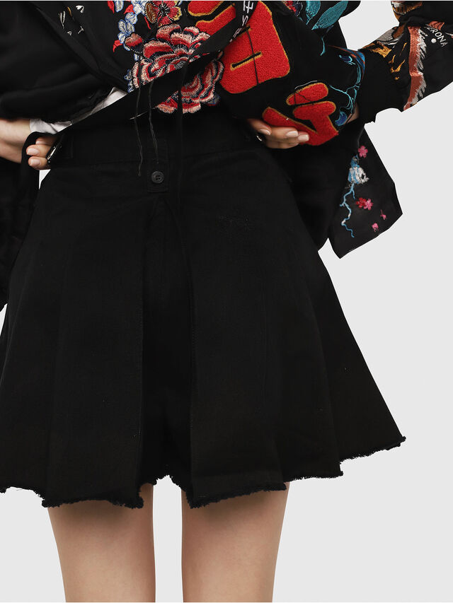 Diesel - S-EDEN, Black - Shorts - Image 2