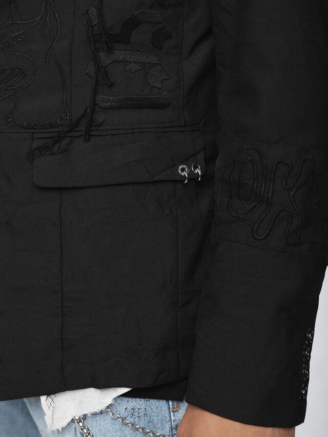 Diesel - J-EMMIE, Opaque Black - Jackets - Image 4