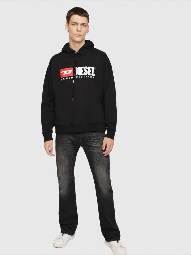 Diesel - Zatiny 087AM, Black/Dark Grey - Jeans - Image 3