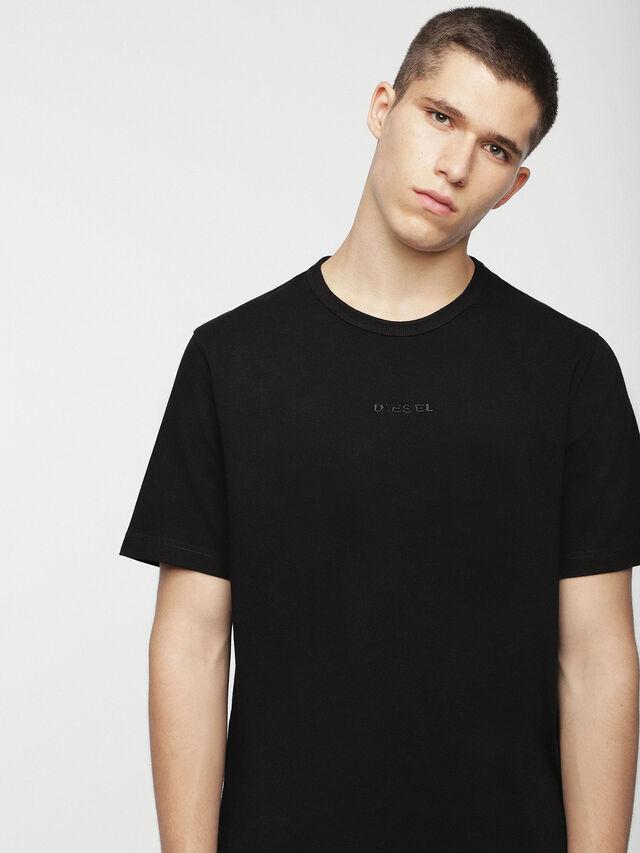 Diesel - T-GULLER, Black - T-Shirts - Image 3