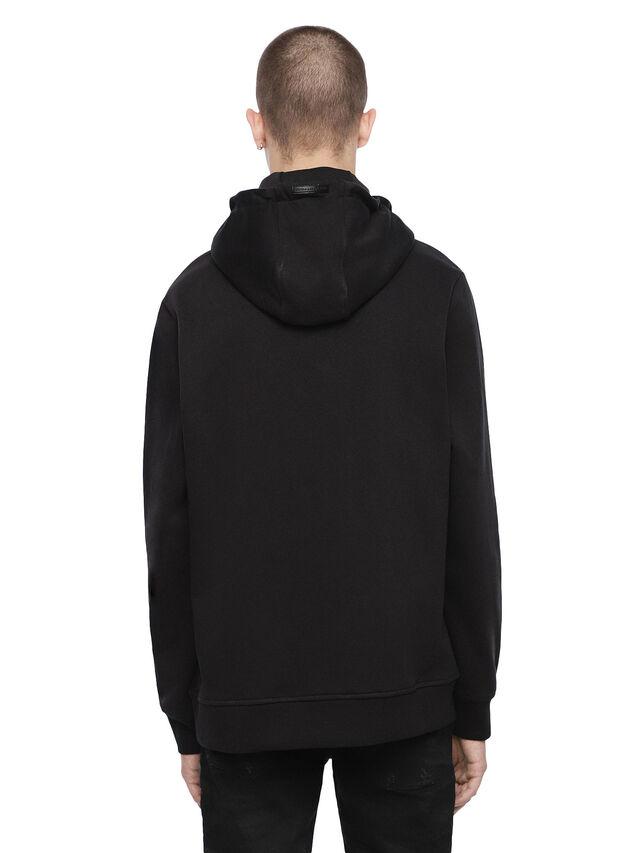 Diesel - SNEILBOOD-FACE, Black - Sweatshirts - Image 2