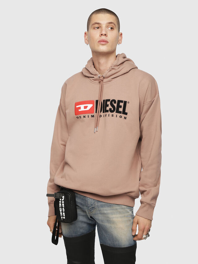 Diesel - S-DIVISION, Face Powder - Sweatshirts - Image 1