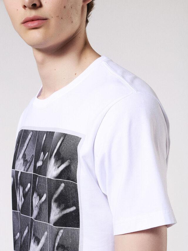 T-JOE-QR, White