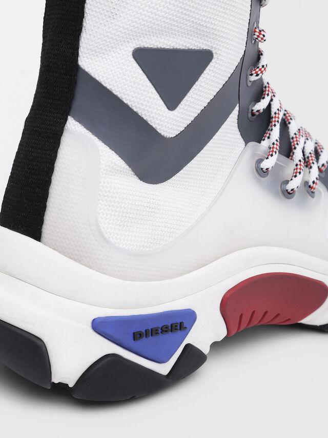 Diesel - S-KIPPER MID LACE, White - Sneakers - Image 5