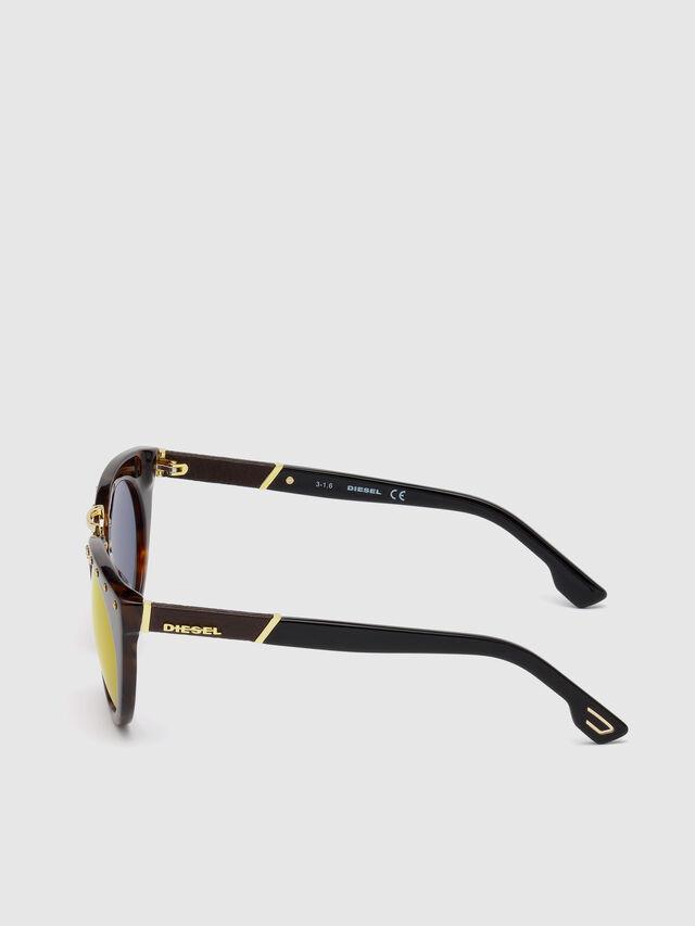 Diesel - DL0211, Brown - Sunglasses - Image 3