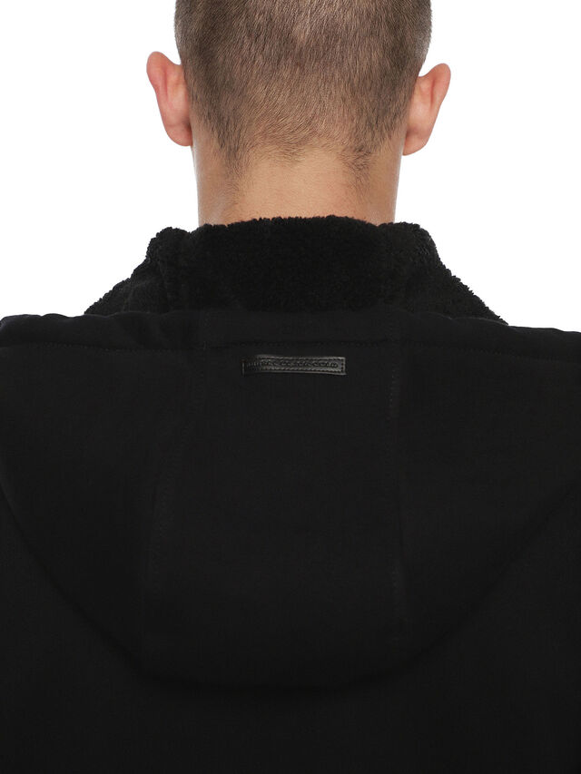 Diesel - FLAMO, Black - Sweatshirts - Image 6