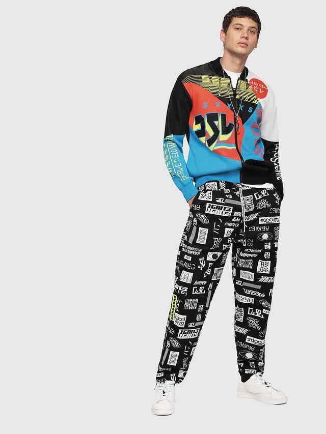 Diesel - K-RACIN, Multicolor - Sweaters - Image 4
