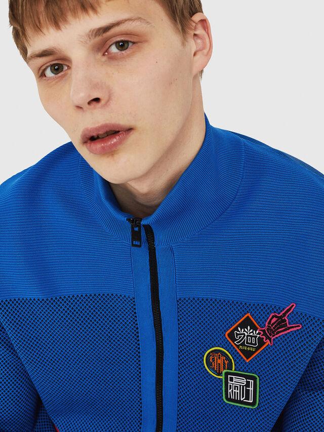 Diesel - K-TRAFFIC, Brilliant Blue - Sweaters - Image 4