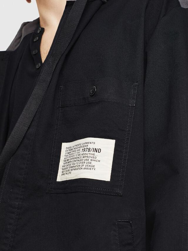 Diesel - S-EIKU, Black - Shirts - Image 3