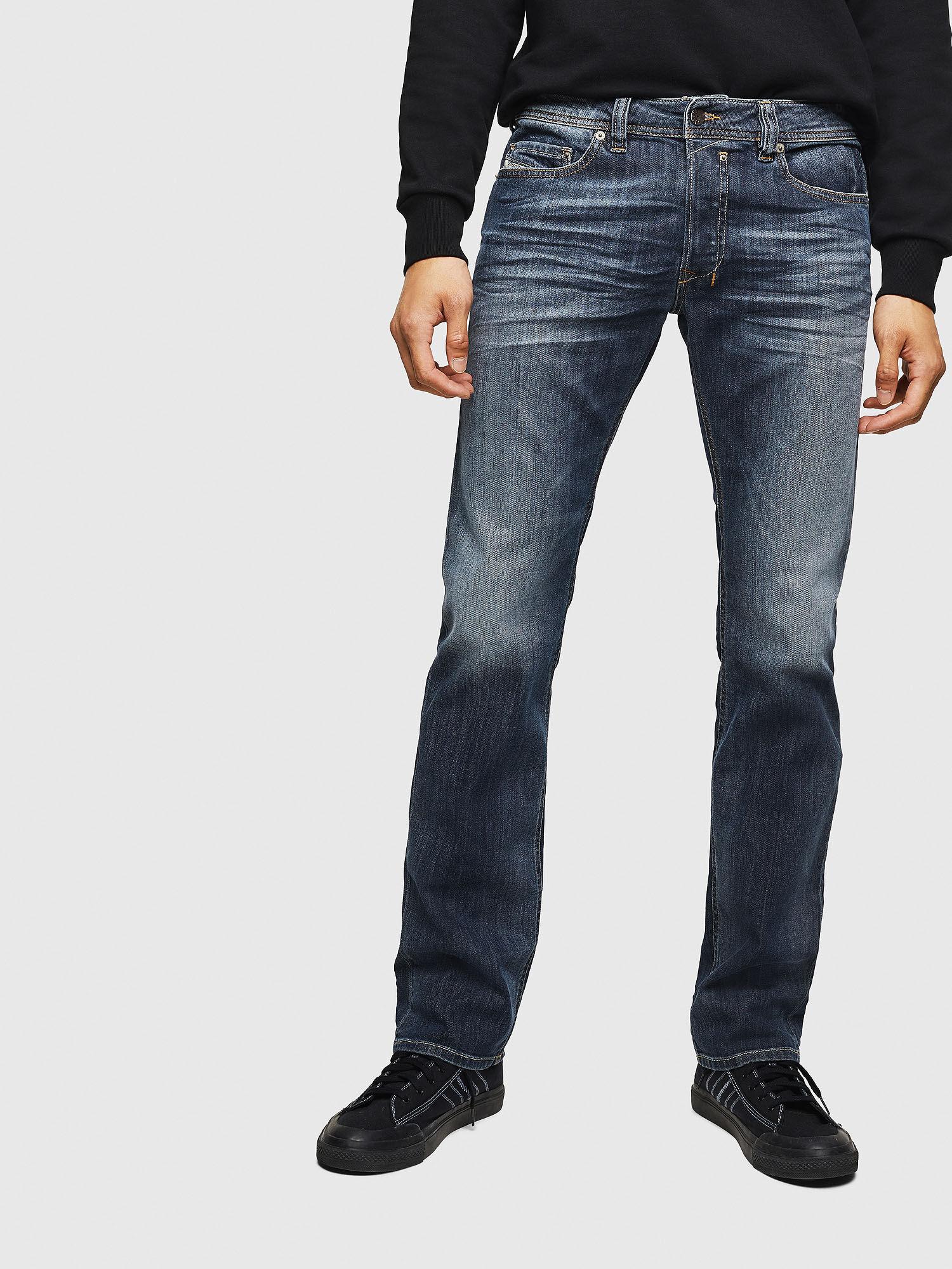 Kleidung & Accessoires Diesel Dark Denim Straight Leg Jeans Size 34 Herrenmode