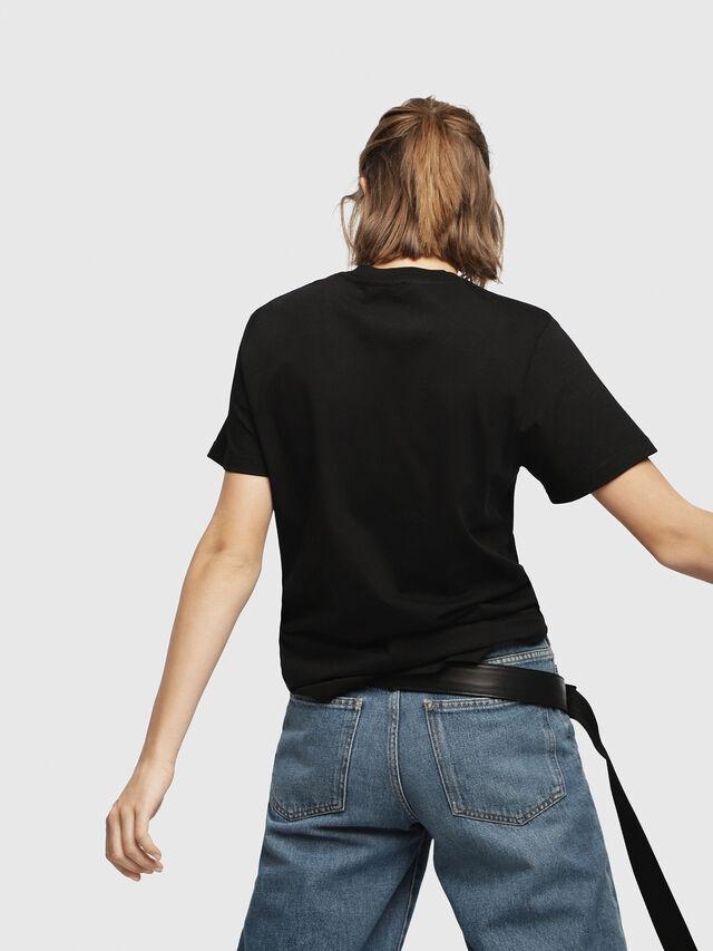 Diesel - T-FLAVIA-F, Black - T-Shirts - Image 2