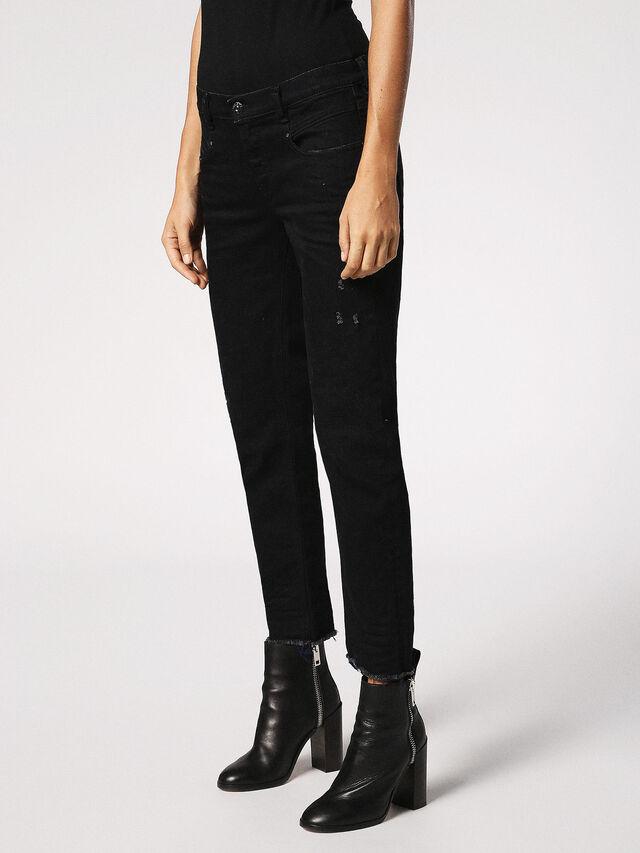 Diesel - Belthy 084JS, Black/Dark Grey - Jeans - Image 7
