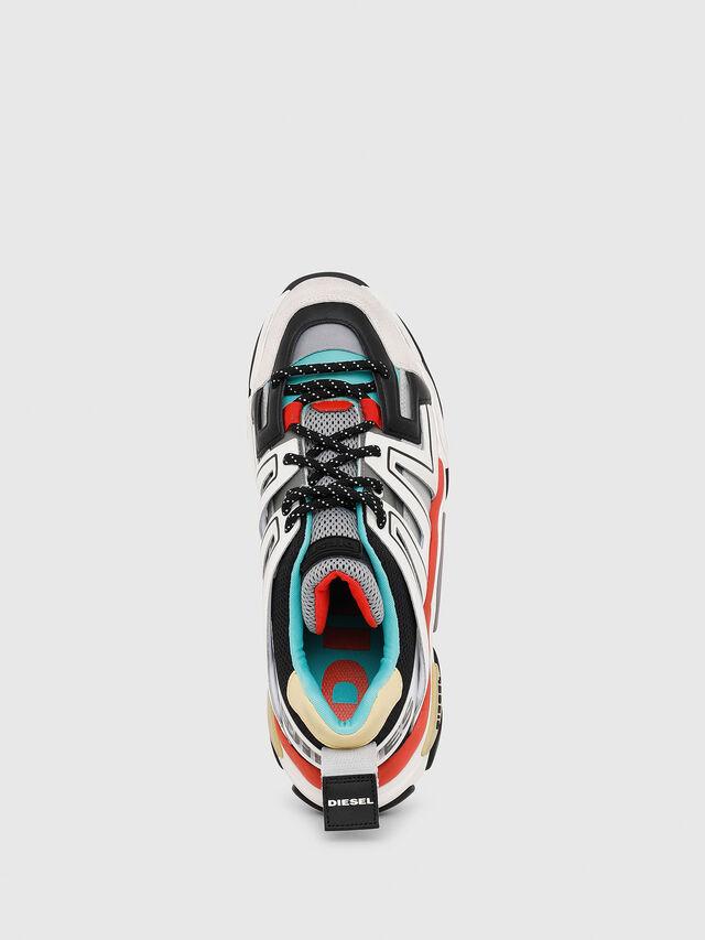 Diesel - S-KIPPER LOW TREK, White - Sneakers - Image 4