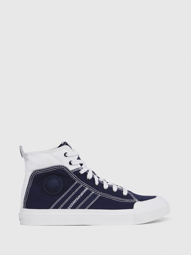 Diesel - S-ASTICO MID LACE, Blue/White - Sneakers - Image 1