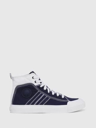 separation shoes 8582e 945eb S-ASTICO MID LACE, BlueWhite - Sneakers
