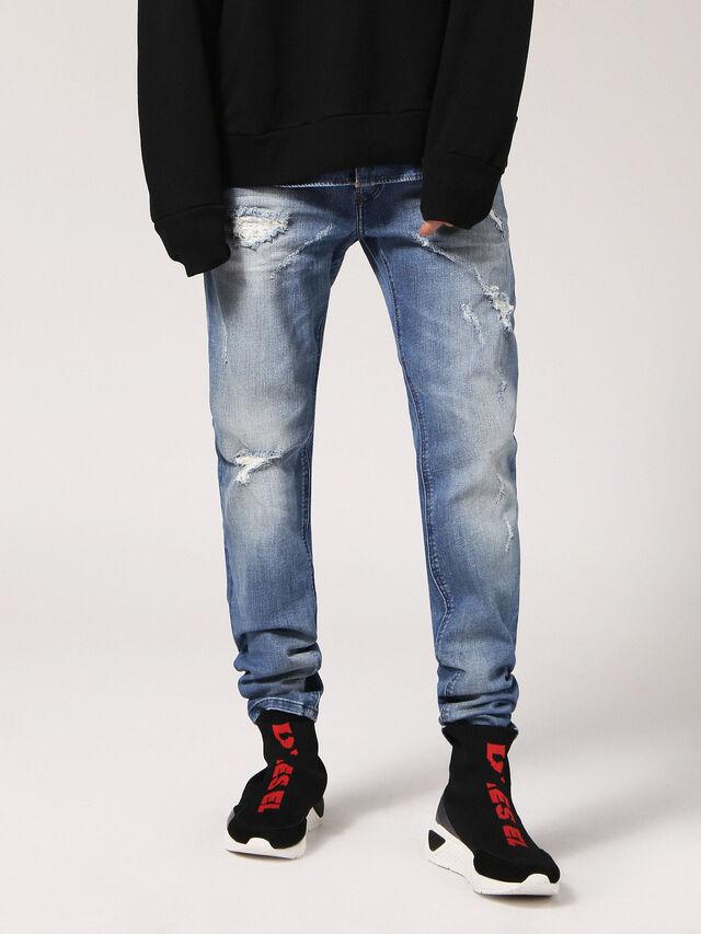 Diesel - Sleenker CN084, Light Blue - Jeans - Image 1