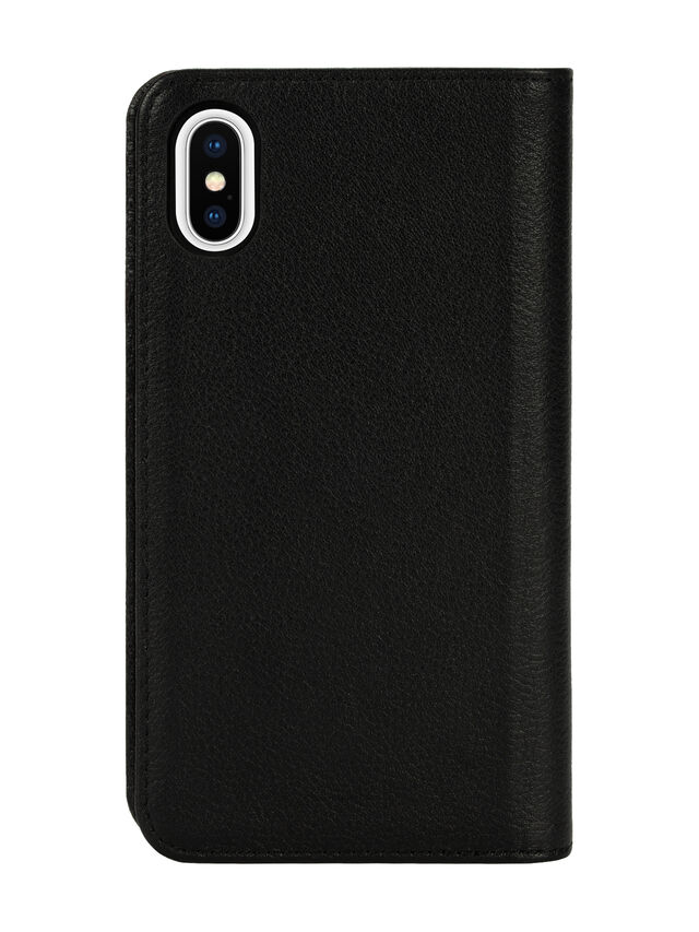 Diesel - DIESEL 2-IN-1 FOLIO CASE FOR IPHONE XS & IPHONE X, Black - Flip covers - Image 2