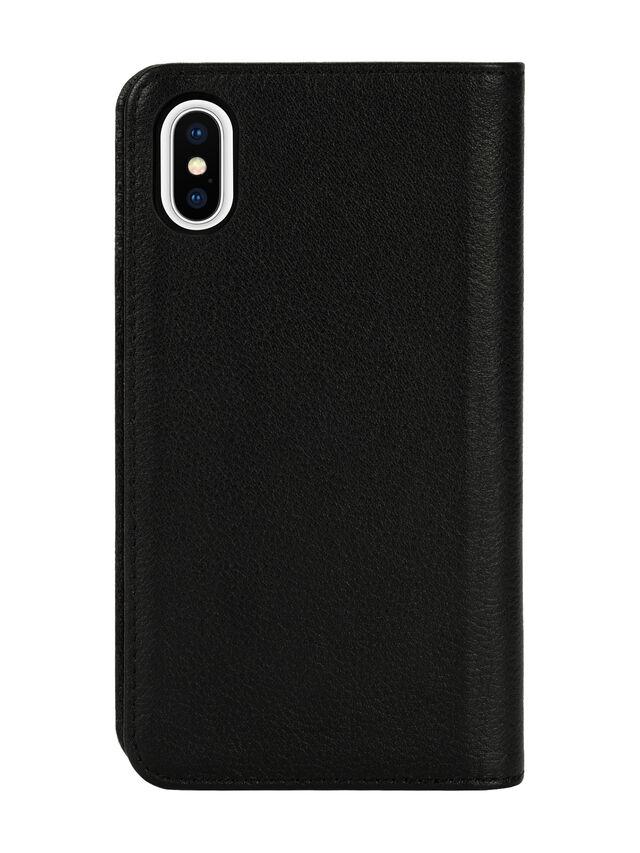 Diesel - DIESEL 2-IN-1 FOLIO CASE FOR IPHONE XS & IPHONE X, Black - Flip covers - Image 2