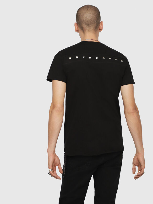 Diesel - T-DIEGO-XMAS, Black - T-Shirts - Image 2