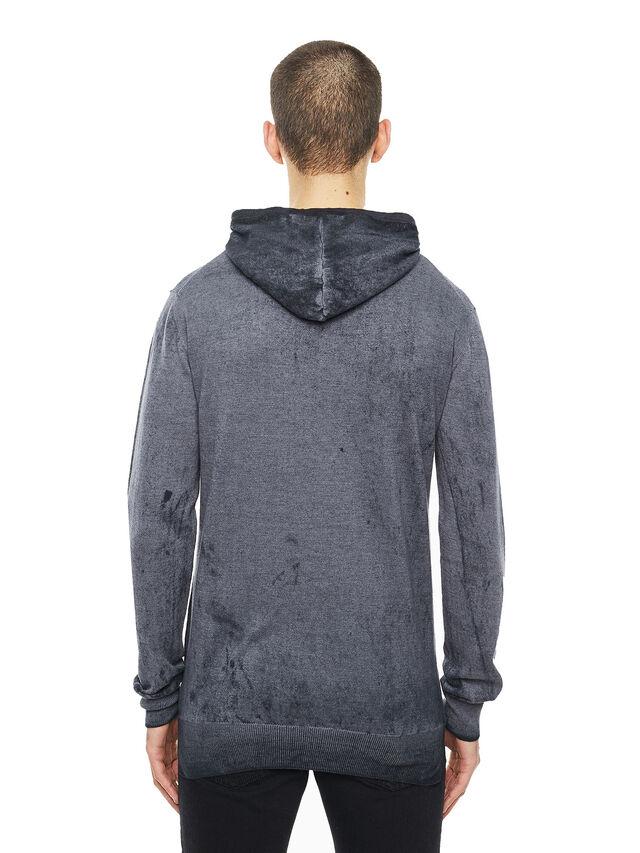 Diesel - KESULFY, Black/Grey - Sweaters - Image 2