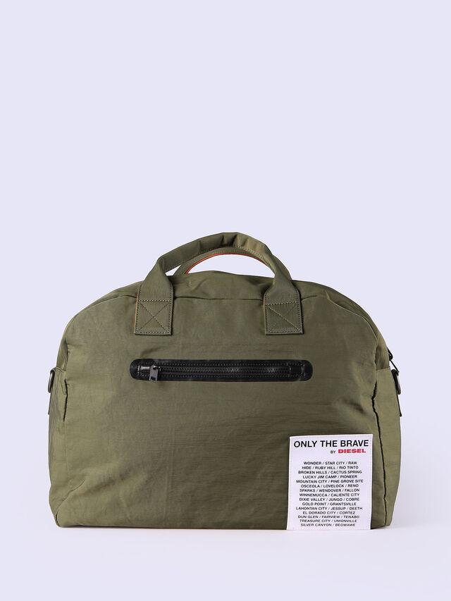 Diesel - XXMATCHDUFFLE, Green - Backpacks - Image 1