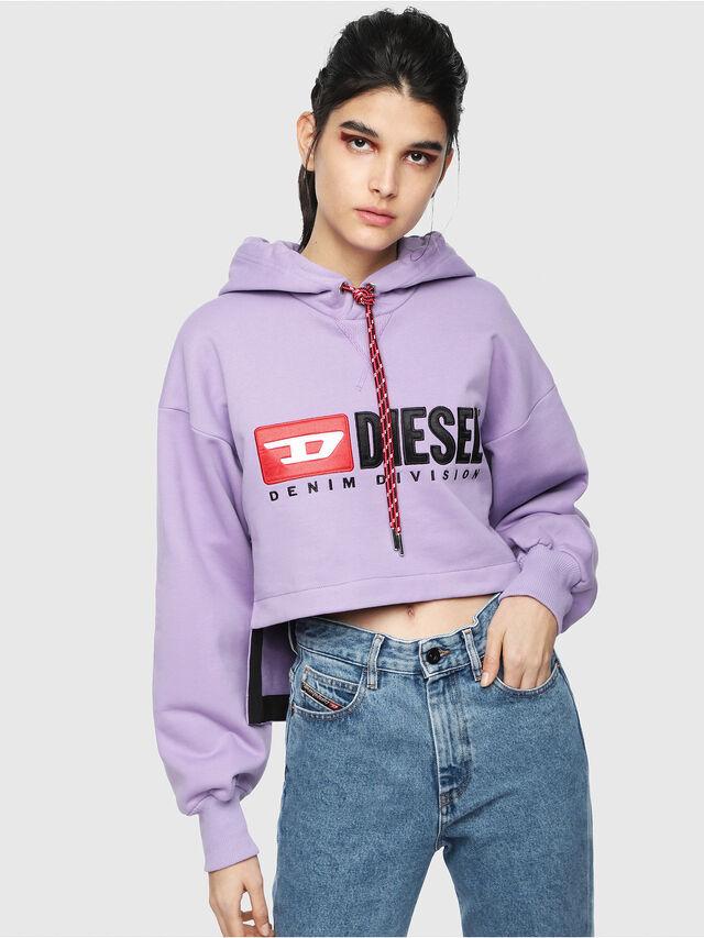 Diesel - F-DINIE-A, Lilac - Sweatshirts - Image 1