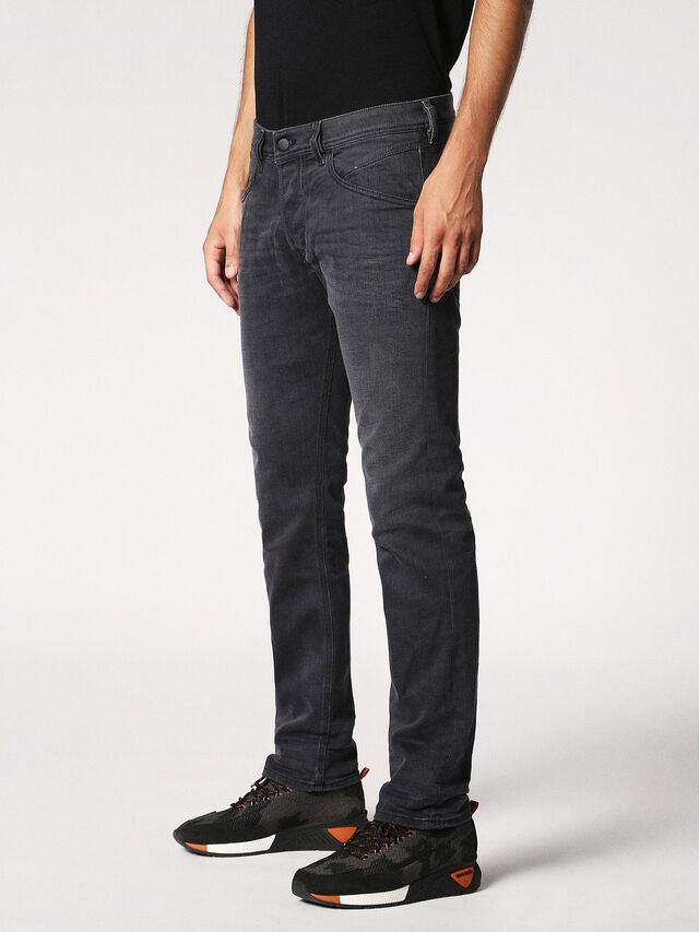 Diesel - BELTHER 0859X, Grey jeans - Jeans - Image 7