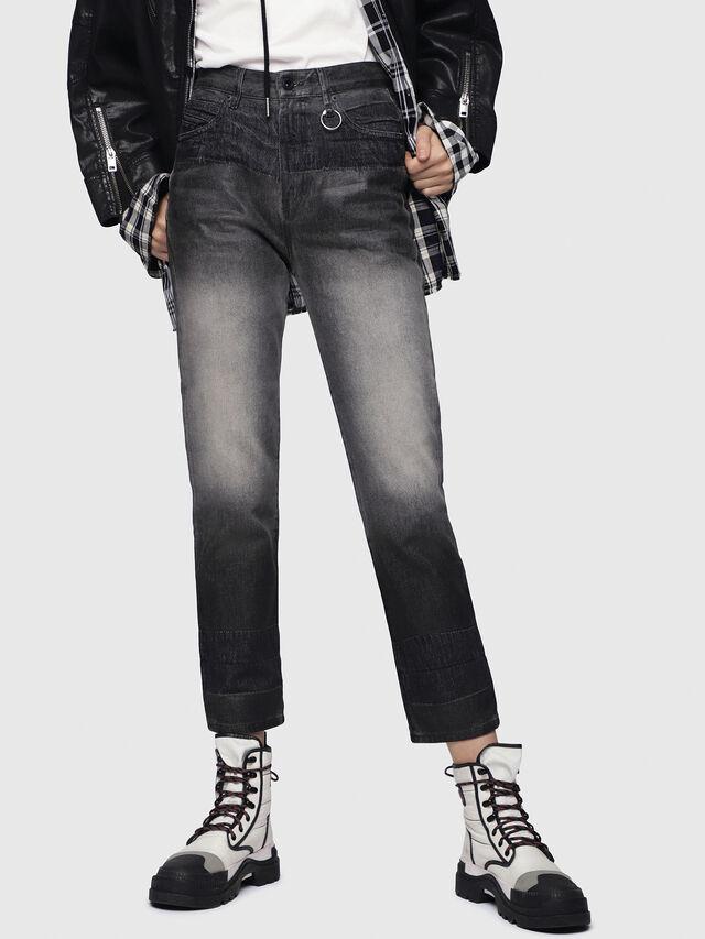 Diesel - D-Eiselle 089AU, Black/Dark Grey - Jeans - Image 1