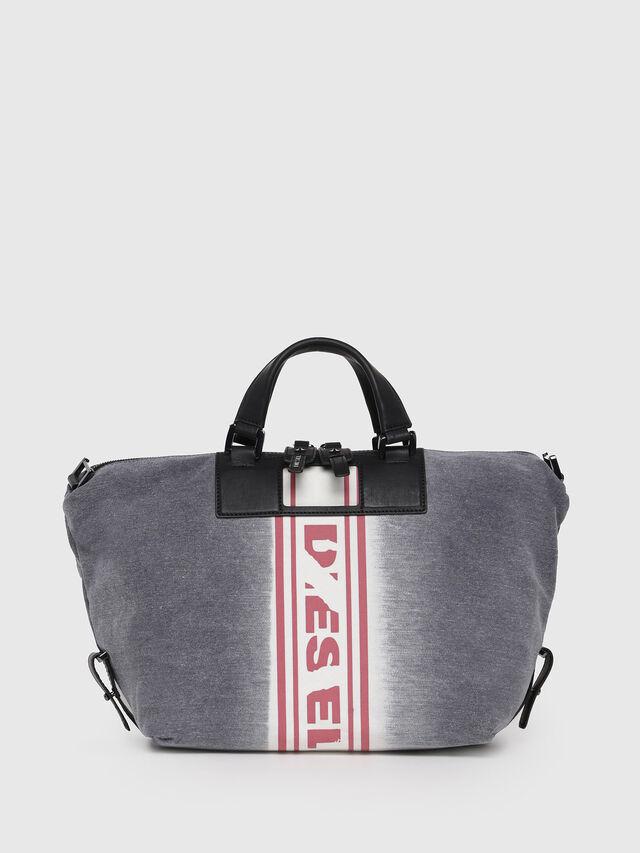 Diesel - D-SCRATCH SATCHEL, Grey - Satchels and Handbags - Image 1