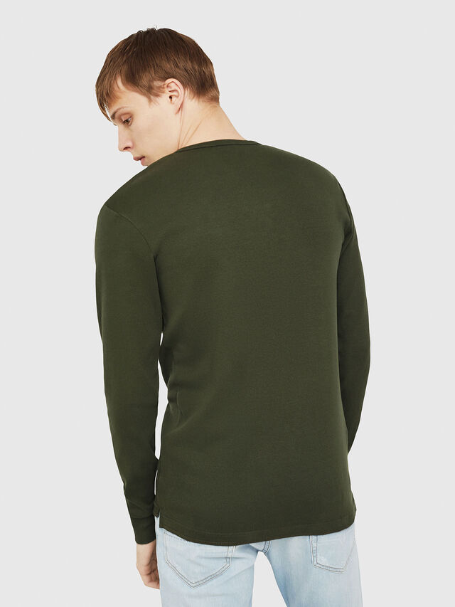 Diesel - T-YOICHIROKI, Dark Green - T-Shirts - Image 2