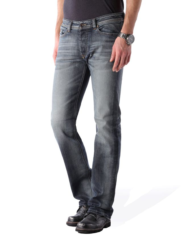 Diesel - Viker 0885K, Bleu Foncé - Jeans - Image 3