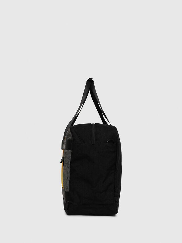 Diesel - SOLIGO, Black/Yellow - Travel Bags - Image 3