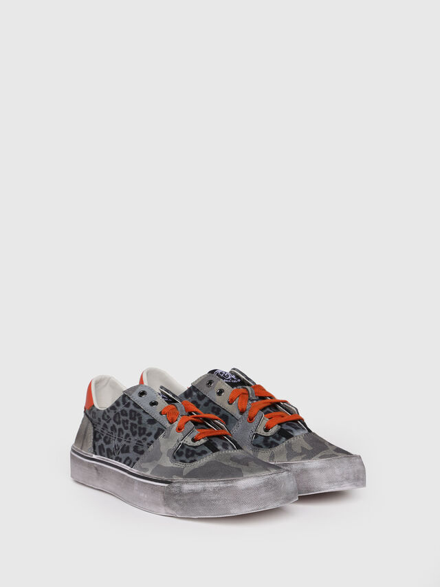 Diesel - S-FLIP LOW, Green - Sneakers - Image 2