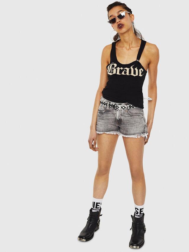 Diesel - T-KARY-A, Black - T-Shirts - Image 5