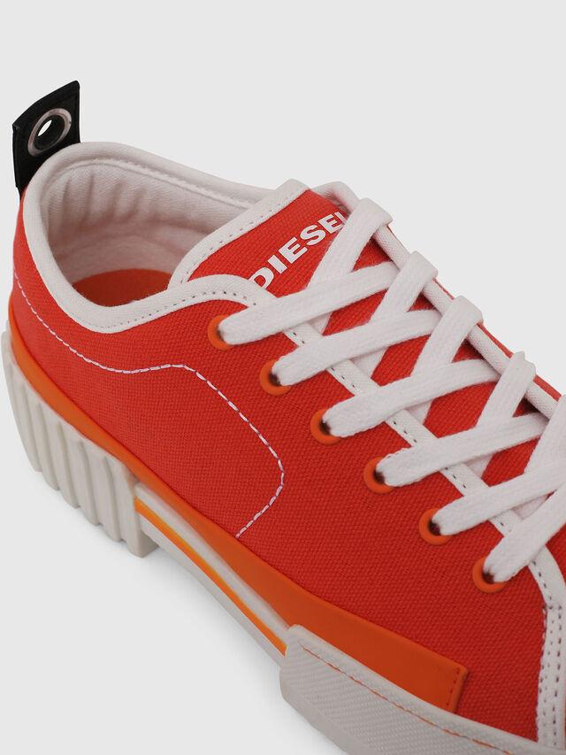 Diesel - S-MERLEY LC, Orange - Sneakers - Image 4