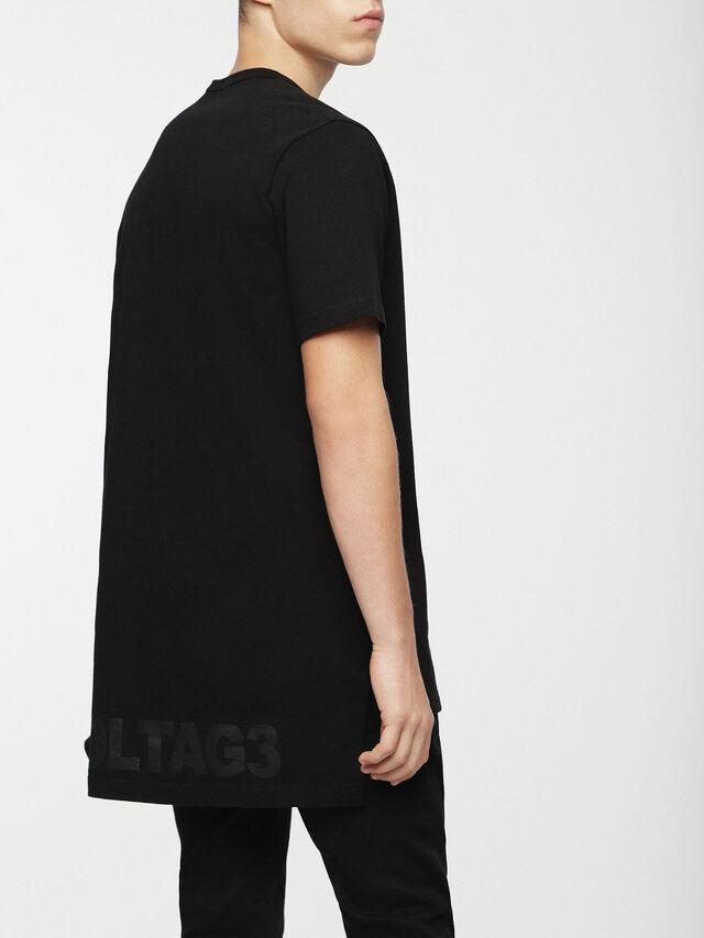 Diesel - T-GULLER, Black - T-Shirts - Image 2