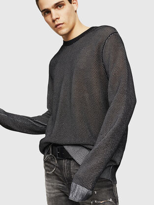 feb5325fd9b Mens Knitwear: wool, cotton | Diesel Online Store