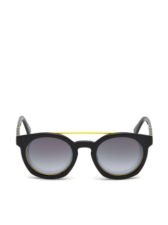 Diesel - DL0251, Black - Sunglasses - Image 1