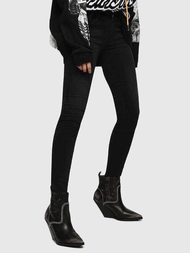 d769a61a Diesel - Slandy Low 069BU, Black/Dark Grey - Jeans - Image 1