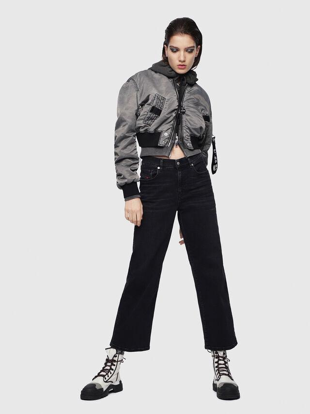 Diesel - Widee 084HQ, Black/Dark Grey - Jeans - Image 4