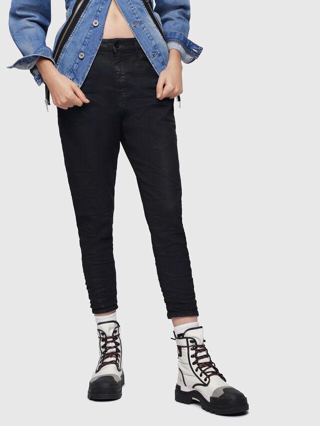 Diesel - Candys JoggJeans 0688U, Black/Dark Grey - Jeans - Image 1