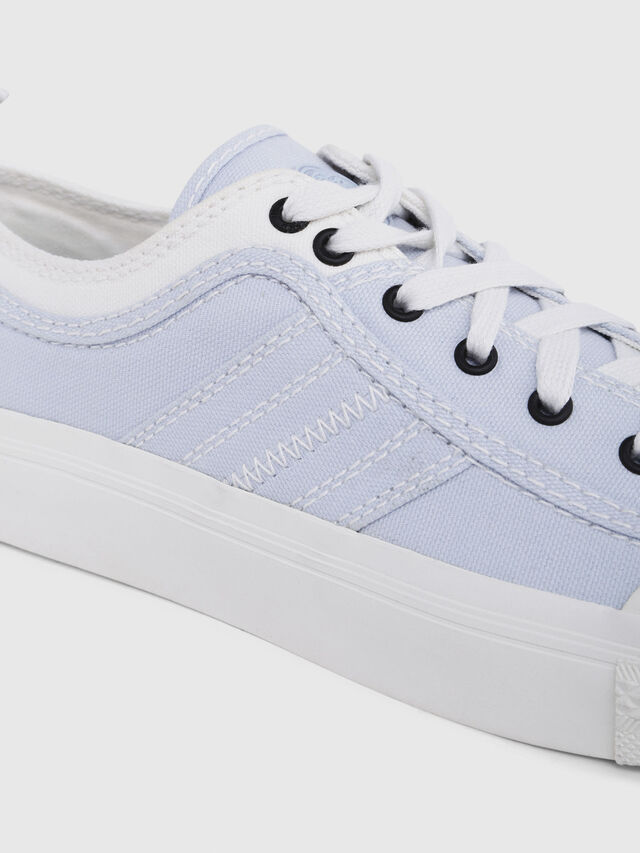Diesel - S-ASTICO LOW LACE W, White/Blue - Sneakers - Image 5