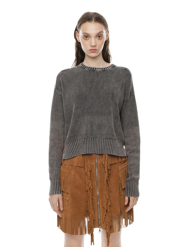Diesel - MERIB, Grey - Sweaters - Image 1